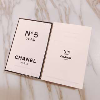 $528 限量版 chanel n5 L'Eau 35ml 爽身粉香味女士淡香水 ✨✨