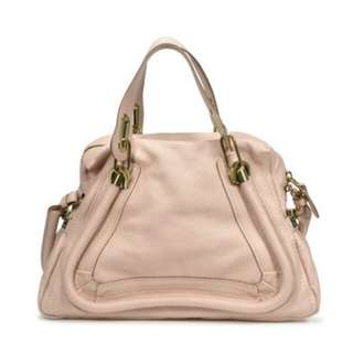 Chloe paraty Medium leather shoulder bag
