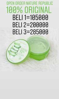 Nature Republic Aloevera Gel 100% Original