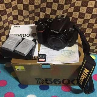 Nikon D5600 + 35mm lens