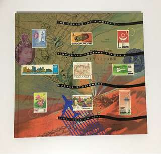 Singapore Postage Stamps book