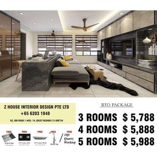 BTO Renovation Package 2018