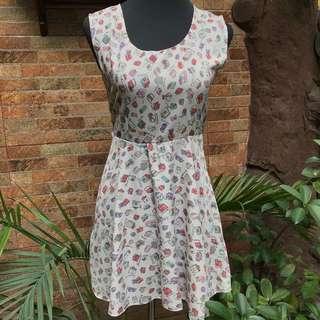 Silk Back Lace Dress
