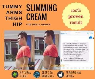 Male bulging tummy slimming