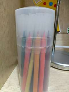 無印muji 二十四色水彩筆