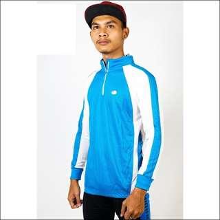 Baju Sepeda Lengan Panjang Aqua