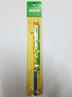 絕版 1995 sanrio 馬騮仔 唔知沙膠定刷膠筆