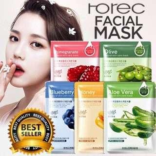 Masker wajah rorec original