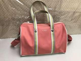 VERY NEW Samsonite Red Pink Duffle Bag