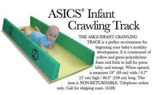 ASICS infant crawling track inclined floor GD Glen Doman