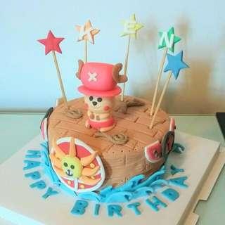生日蛋糕 海賊王
