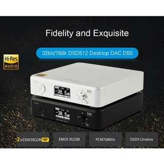 2nd Group Buy (End 24th Jun): Topping D50 DSD DAC - Dual ES9038Q2M + XU208 +OPA1612