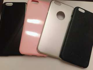 iphone6 6s case 手機殻 電話殻 淨色 卡通