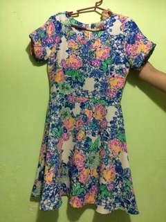 Redhead Floral Dress