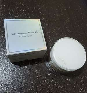 Laneige Satin Finish Loose Powder_EX (No.1 Pure Natural)