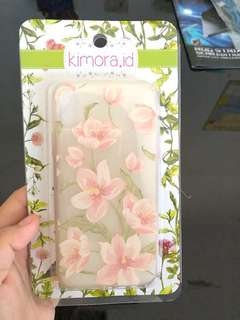 JUAL FLORAL CASE IPHONE X!!!