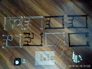 Raspberry Pi 3B / + Case 【Fan included】