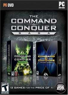 PC Command and Conquer Saga
