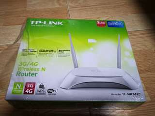 TP link 3G/4G Wireless N Router