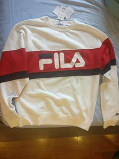 Fila Long Sleeves Cotton shirt from Japan