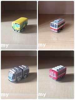 Yujin T-Art 扭蛋火車 扭蛋車 鐵路 鐵道模型 箱根登山鐵道 1000形、伊奈線、岡山鐵道、京急 1000形