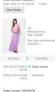Thrift Market Multiway Dress