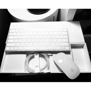 Magic Keyboard & Magic Mouse 2 (Using lightning cable to charge)