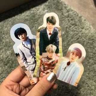 [BTS防彈少年團] Suga、Jimin護貝小卡(3張)