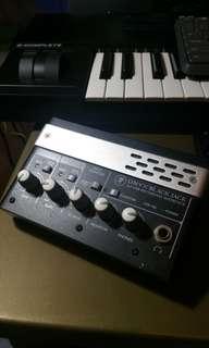 Mackie Onyx Blackjack 2x2 usb recording audio interface