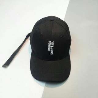 korean under control baseball cap