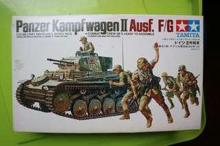 Tamiya Panzer Kampfwagen II