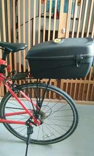 Flinger bicycle pannier rear trunk box