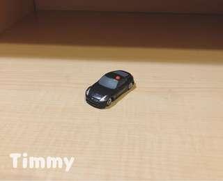 Yujin T-Art 扭蛋火車 扭蛋車 鐵路 鐵道模型 黑色 警車
