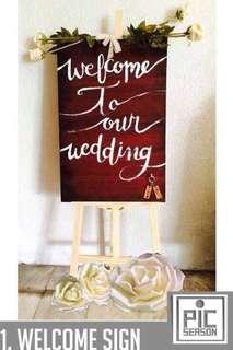 Wedding setup complete