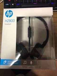 全新 HP電腦Headset H2800