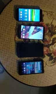 4 phones s5 g3 Xperia z