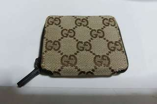 Gucci 銀包 coin case