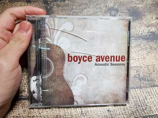 CD Boyce Avenue Acoustic Session 1 Original