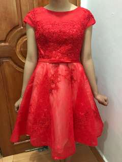 Glamour Party Gown