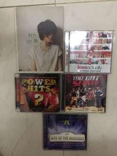 Music CDs Movie VCD