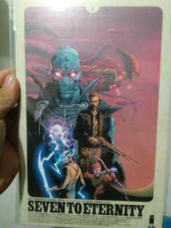 Seven to eternity #1 first print
