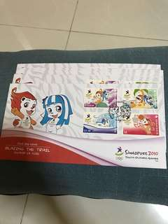 Youth Olympics Games 2010 Stamps