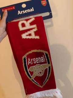 阿仙奴頸巾 ,全新,購自英國,有原裝袋🇬🇧