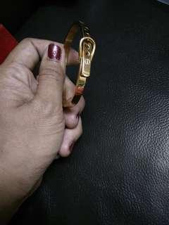 Cartier gold colour breselet