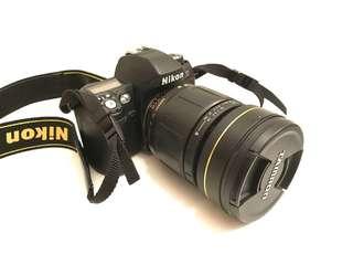 Tamron 28-105 2.8 + Nikon F80