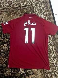 Liverpool HomeKit 18/19 Salah Arabic Nameset