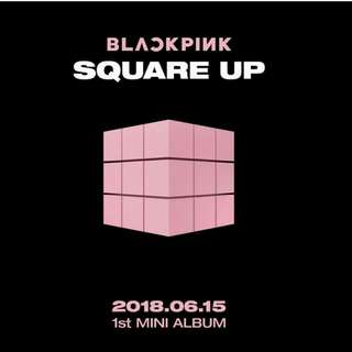 [PREORDER] Black Pink Square Up