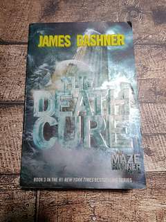 The Maze Runner #3 The Death Cure Import English Original