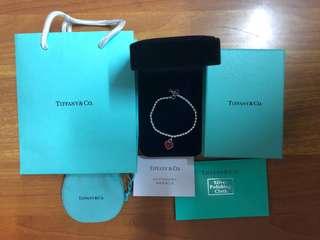 Tiffany &Co ❤️禮物頸鏈頸鍊手鏈手鍊 經典款全新 名牌幼頸鏈手鍊🎁 生日禮物女朋友禮物穩陣款