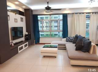 5years new. Beautiful Renovated 5 room Blk 426 D